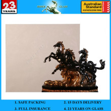 2-19mm Klare Bronze Fertig Sale Blau Grün Grau Float Glas