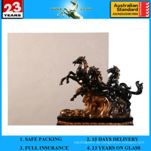 3-12mm dunkles Bronze Floatglas mit AS / NZS 2208