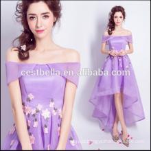 2017 Mulheres Verão Sexy Vestidos de festa roxo Vintage Retro Style Ladies Purple Sweet Cocktail Dress