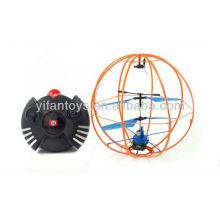 2013 nuevo y caliente 3ch infrarrojos rc 360 grados de rotación bola de vuelo