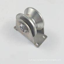 U V groove sliding gate track roller wheel roller sliding gate wheel