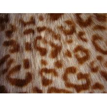 Леопарда Печатных Искусственного Меха