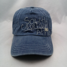 vintage style embroidery design washing cowboy caps