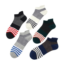 Brand Strip Ankle For Men Colorful Men's 2019 New Products Summer Mens Cotton Socks Online