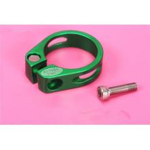 RISK braçadeira de banco de peças de bicicleta mtb al6061 Braçadeira de tiras de correia CNC 28.6 / 31.8 / 34.9mm braçadeira de assento de bicicleta