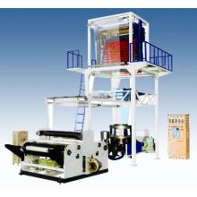 LDPE / HDPE / LLDPE Rotary-cabeza de la película de extrusión de la máquina