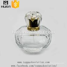 Bouteille en verre de parfum de pompe de jet de verre de 70ml