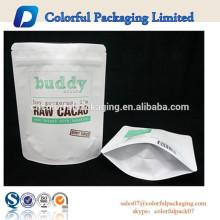 Personalizado impresso stand up pouch embalagem de esfoliação corporal de café