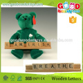 High Quality 100pcs Alphabet Letters Game Kids Educatiional Wooden Alphabet Number Letter