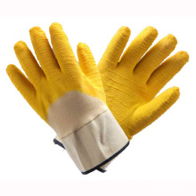 (LG-021) 13t Latex Coated Labor Protective Safety Work Gloves