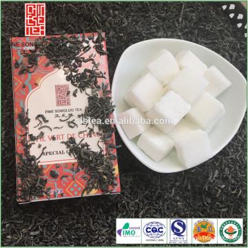 Оптовая хороший вкус китайский зеленый чай chunmee упаковка в бумажной коробке
