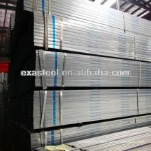 Galvanized Rectangular Structural Steel Pipe Dimension