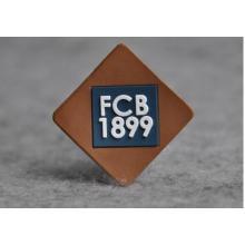 Custom Metal Brand Logojeans Leather Patch