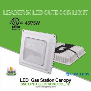 Lumière d'auvent de la lumière 75W LED d'auvent / de station d'essence de LED de cUL de UL UL cUL