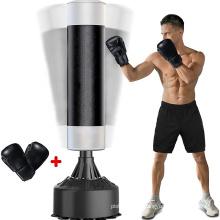 Saco de boxeo independiente cónico para adultos Kickboxing