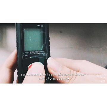 telémetro láser de larga distancia medidor de chengdu jrt usb