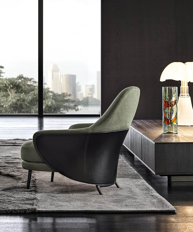 Modern-Style-Angie-Armchair-by-Minotti