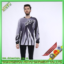 Sublimation Jersey Dry Fit T Shirts for Motorcycle Compitition