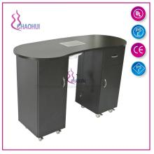 Nail table with exhaust fan