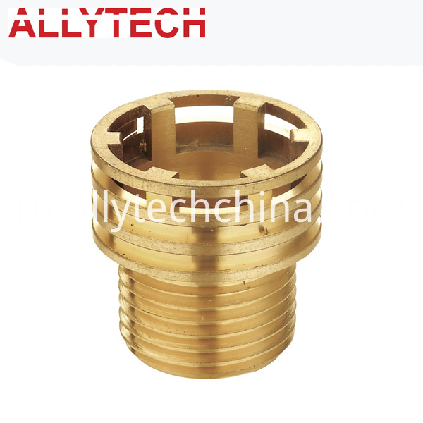 brass machining components