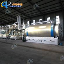 Recycler le plastique usagé à l'usine de pyrolyse diesel