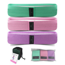 Customized Colorful Hot Sell Fitness Yoga Band Women Hip Circle Resistance Elastic Bands