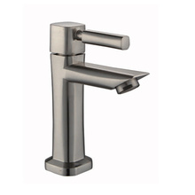 Lavatory Sink Faucet Brushed Nickel Finish