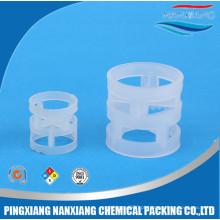 Embalagem plástica do anel de Pall para a indústria química