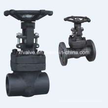 Forged Steel A105 Thread or Flange End Gate Valve