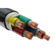 Arten von unterirdischen 4-Kern 4mm 70mm Kupfer PVC armierte Kabel 120mm 4x25