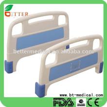 Acessórios para cama de hospital com venda a quente Placa de cabeça e pés de ABS