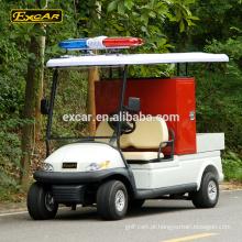 Excar 48V 2 lugares mini motor de fogo elétrico novo design caminhão de bombeiros