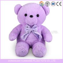 vívidos juguetes de oso de peluche púrpura con corazón