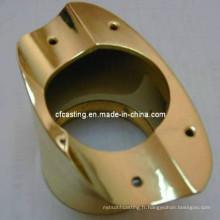 Coulée de cire perdue moulage de précision moulage de cuivre de précision