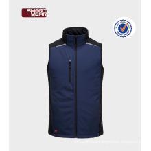 winter good quality new design waterproof softshell mens vests