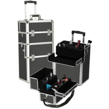 The Most Popular Black Rolling Makeup Case (HX-A0734)