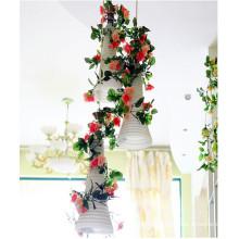 новый стиль искусственный цветок стенд для свадьбы украшения этапа
