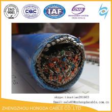 XLPE / SWA / OS / PVC XLPE aislamiento SWA LSZH cable de alimentación de resistencia al fuego