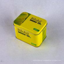 Lata de lata quadrada, Revestimento quadrado de lata de estanho, Estanho quadrado