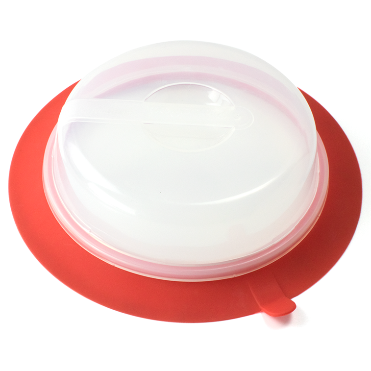 Silicone Collapsible Plate Topper 5