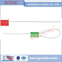 GC-C1002 plastic coated cable seal with 1.0mm ss wire