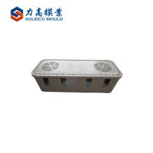 Molde / molde plásticos da caixa de bateria da tevê da injeção, molde plástico da caixa de bateria do armazenamento, molde plástico da caixa da bateria