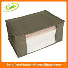 Caixa de armazenamento não-tecida com tampa