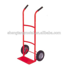 Stainless steel hand trolley Pneumatic wheel
