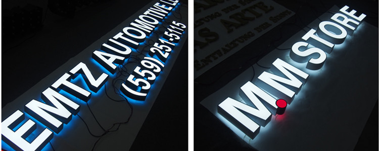 Front Backlit Channel Letters