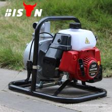 BISON China 1.5inch 2HP Gasoline Engine Manual Pressure Pump with Low Pressure