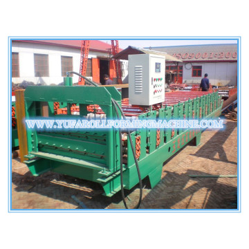 840/900 Double Layer Roof Panel Roll Forming Machine