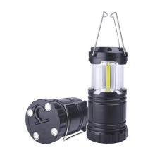 Lanterne de camping à piles à DEL avec base magnétique