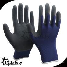 SRSAFETY 13g резиновые пенные латексные перчатки / защитные перчатки