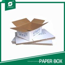 Складная картонная коробка рассылки перемещение доставка (FP200102)